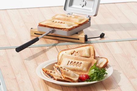 LOGOS(ロゴス) 「外ごはんをもっと楽しむ調理グッズ」3種 新発売【ホットサンドパンがリニューアル&スイーツづくりアイテムが新登場】
