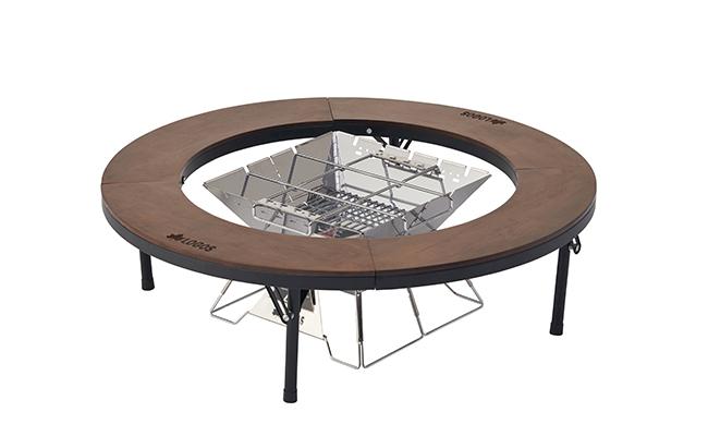 LOGOS(ロゴス)「アイアンウッド囲炉裏サークルテーブルL」