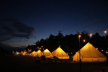 千葉のグランピング施設「BUB RESORT」に1シーズン限定でキャンプサイトがOPEN