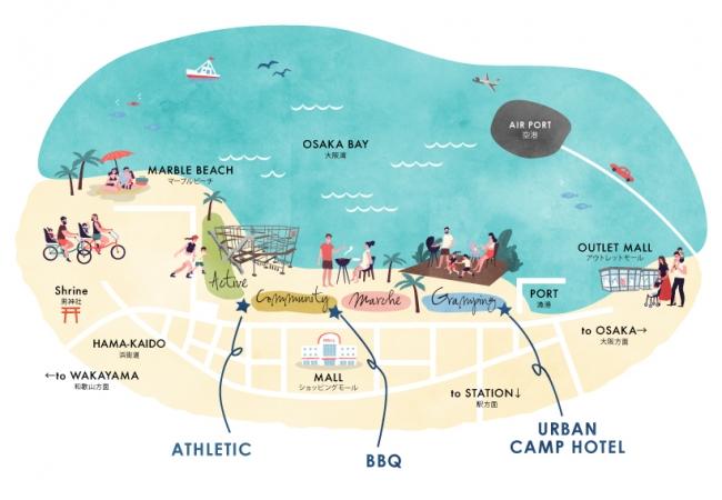 URBAN CAMP HOTEL Marble Beach