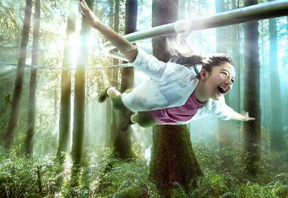 ネスタリゾート神戸「大自然の冒険テーマパーク」 に大自然と向き合う本格的なキャンプサイト