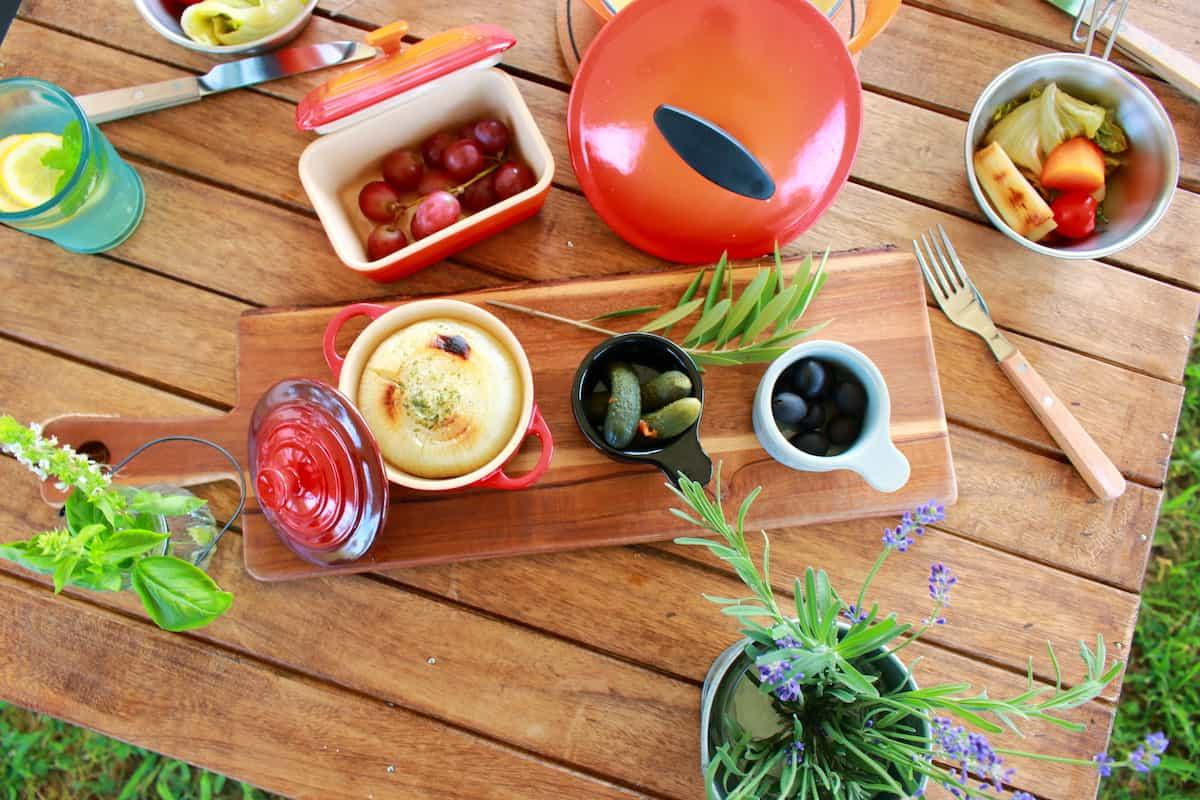 女子キャンプ 料理アイテム