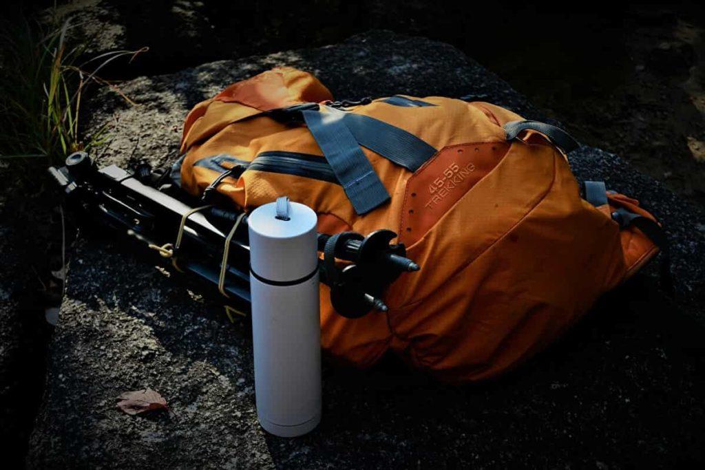 ステンレス水筒(ボトル)登山