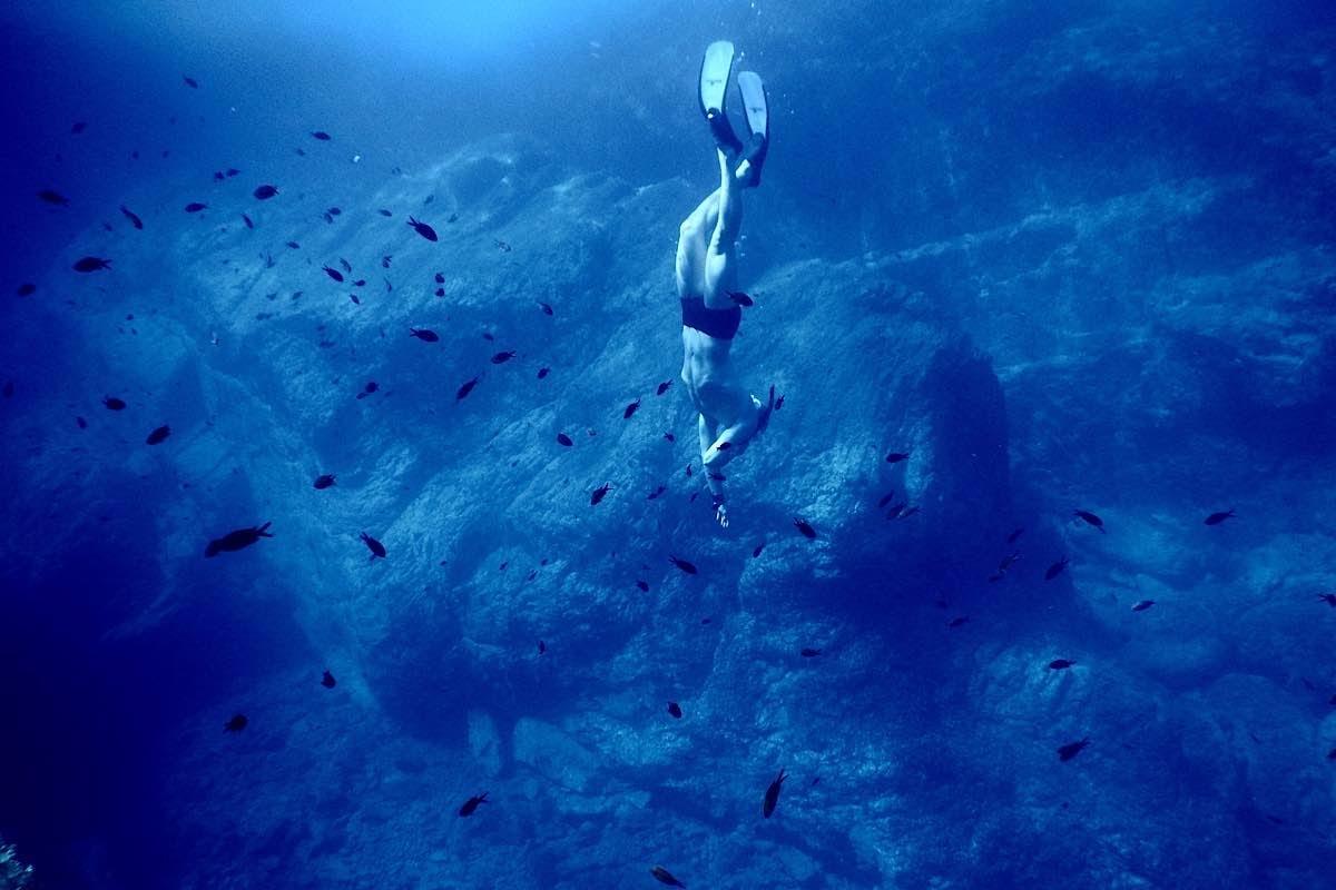 ダイビング ヨガ呼吸法