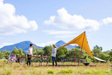"""国立・国定公園内にある休暇村のキャンプ場 「食材なし」の""""手ぶらでキャンプ""""プランが新登場"""