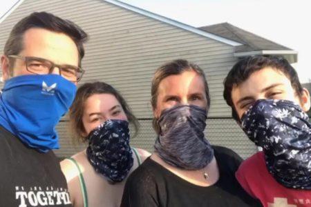 MISSIONの マルチクールネックゲイタ―【アクティブに動く人のためのマスク代用品&熱中症対策も兼ねるフェイスマスク】