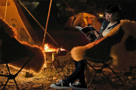 ウォーキングやキャンプ、おうち時間を充実させるブックライトGLOCUSENTが先行予約販売を開始