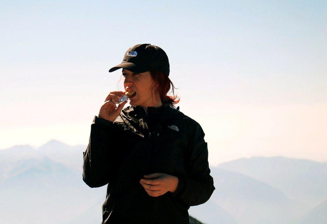 登山 行動食