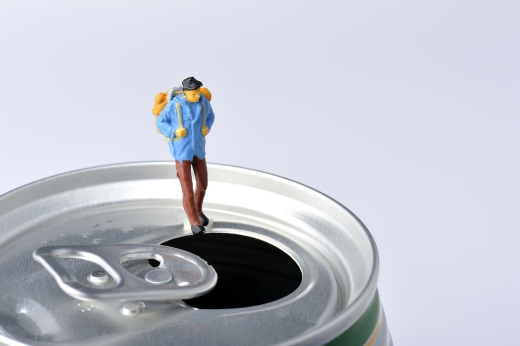登山 お酒(アルコール)