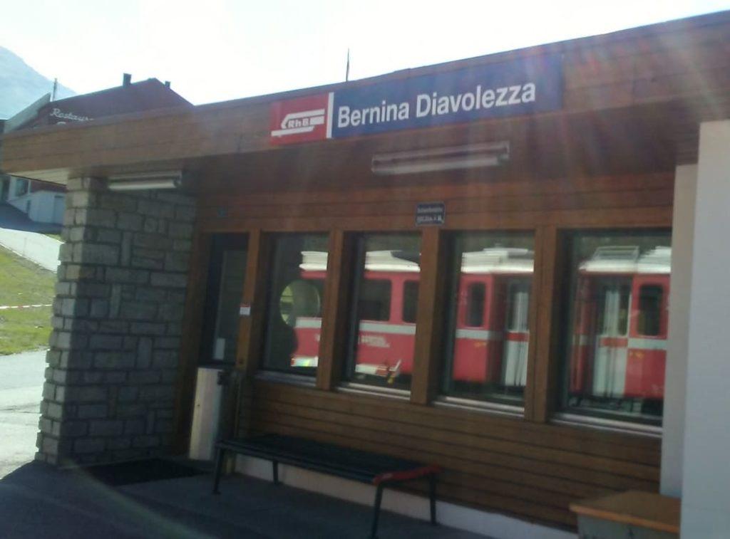 ベルニナ鉄道 トレッキング