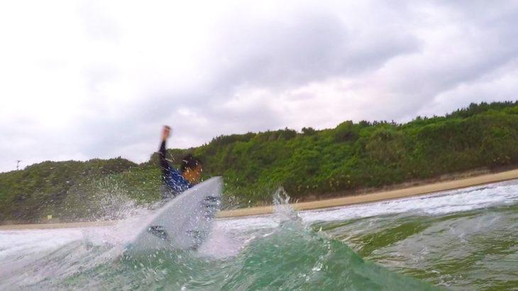 サーフィン GoPro撮影