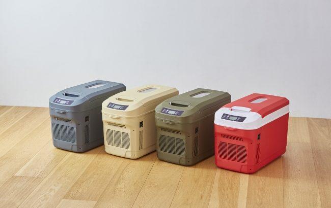 1泊2日のキャンプにはコレ!ICEBERG の持ち運べる冷蔵庫を発売