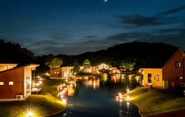 滋賀でキャンプとグランピングが楽しめる「グリーンパーク山東」「グランエレメント」再開