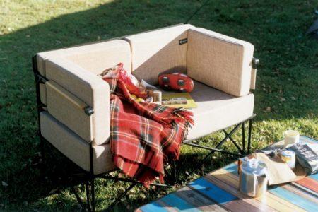 LOGOS(ロゴス)、極上の心地良さのソファ&アームクッション「グランベーシック グランプソファ」発売