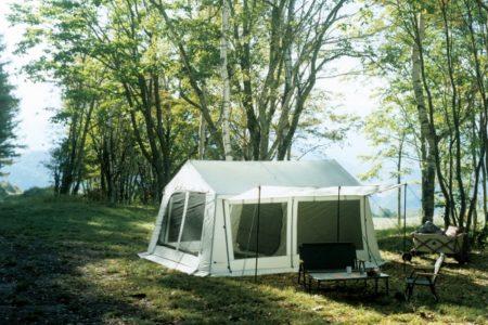 LOGOS(ロゴス)、コテージ型テント「グランベーシック リバイバルコテージ L-BJ」を発売