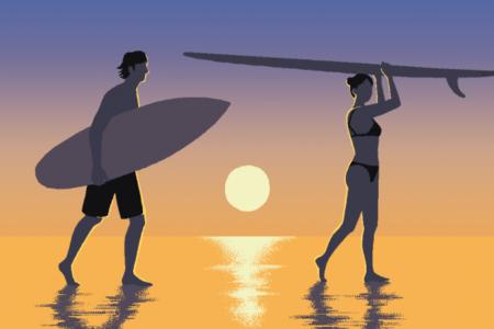 サーフィンラヴァーズに向けてukaから2020年夏限定ヘアオイルミストを発表