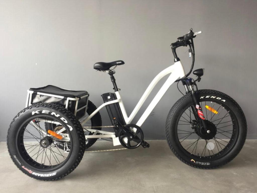 電動アシスト式三輪自転車 スポーツモデル「e trike」