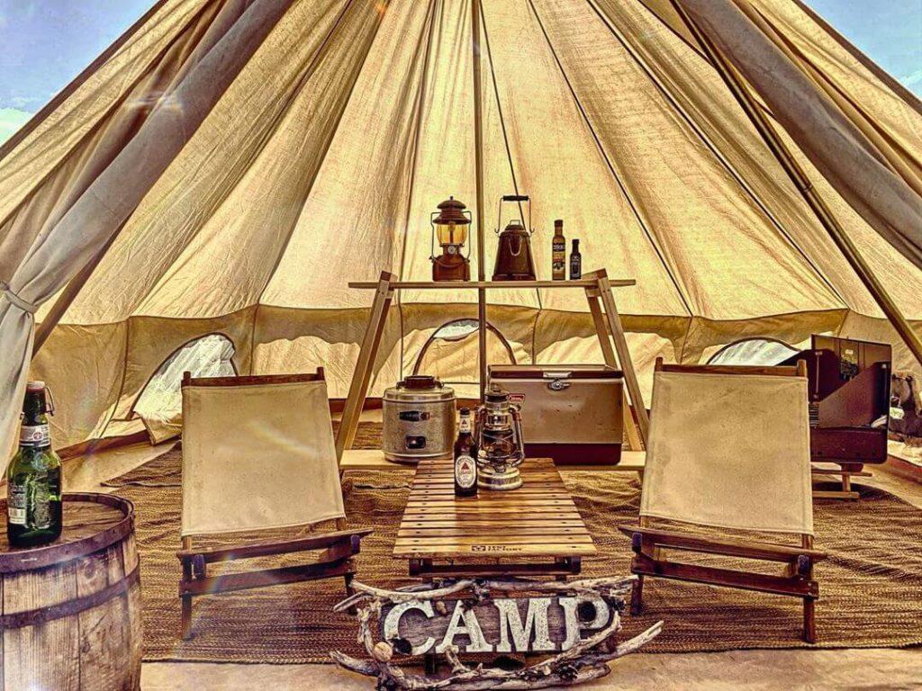 キャンプ用品店「モロックヴィレッジ」