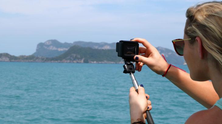 SUP 防水カメラ