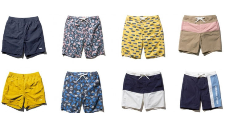 HELLY HANSENの夏に活躍する新作ショーツ「SHORTS & WATER SHORTS Series」