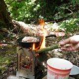 焚き火ギア「firebox」を実際に使ってみた!!ソロキャンプがさらに便利になる