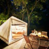 「Sport&Do Resort リソルの森」のグランピングエリア「グランヴォー スパ ヴィレッジ」本格オープン