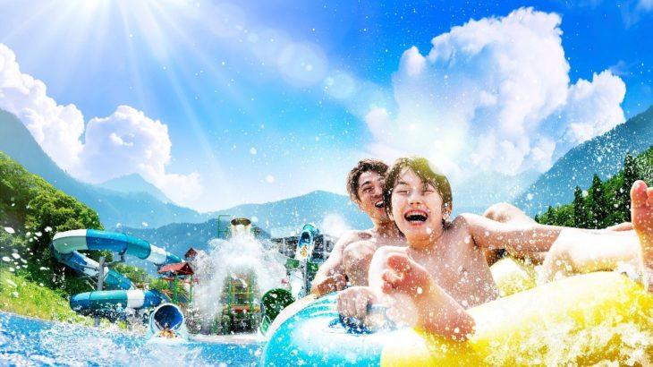 ネスタリゾート神戸、冒険テーマパークの夏は大自然のプール(WATER FORT)で本能開放!