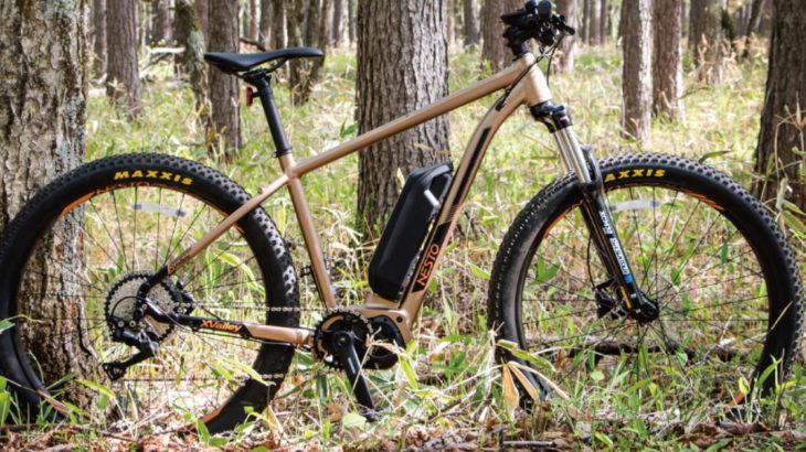 NESTO初のe-bike (電動マウンテンバイク)「X-VALLEY E6180」発売