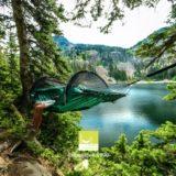フルフラットハンモックテント「Blue Ridge Camping Hammock / ブルー・リッジキャンピングハンモック」