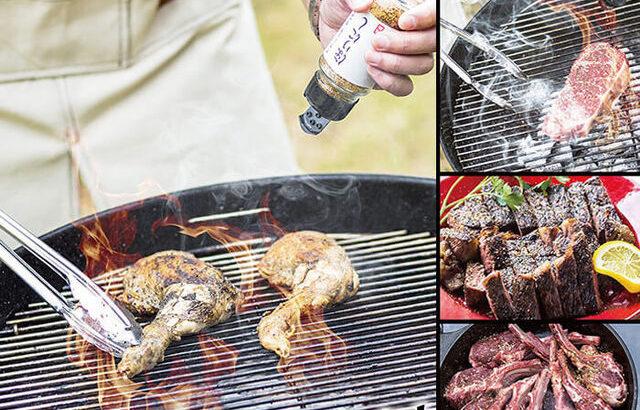キャンプ飯・BBQに使える万能スパイス、「アウトドアスパイス ほりにしの辛口(レッド)」で旨辛仕上げ!