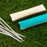 刃物屋が造るキャンプ用ペグ『打刀(Uchigatana)』は スリムで頑丈&コンパクト収納
