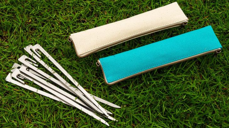 キャンプ用ペグ『打刀(Uchigatana)』
