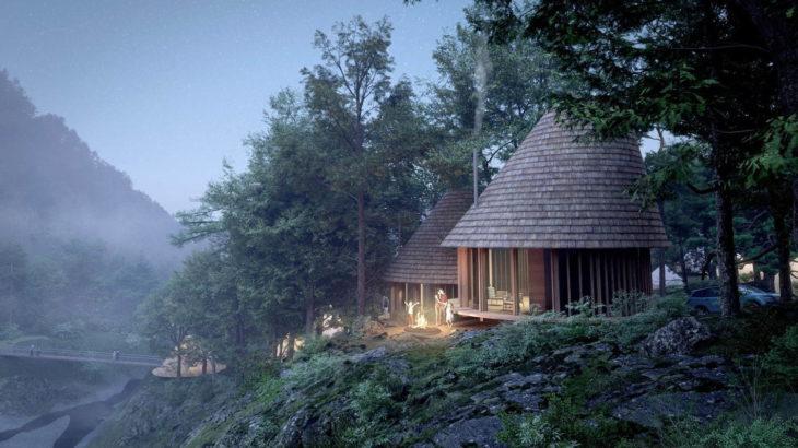 NORDISKによるキャンプ場・アウトドアフィールド「Hygge Circles Ugakei by Nordisk」が三重・いなべに登場