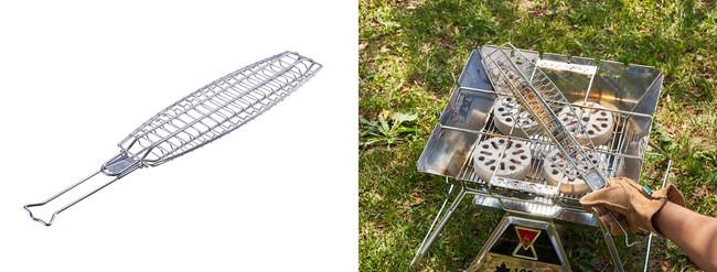 LOGOS 炭火サンマ焼き器