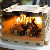 耐火・耐水・耐久性に優れた「KUMINO BRICK」、レンガの常識を覆す大人のつみき
