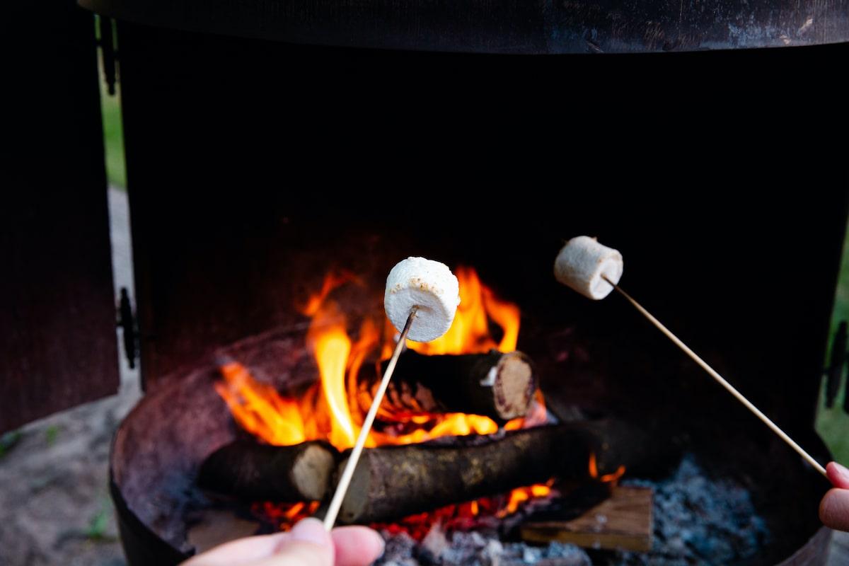 キャンプ 焚き火レシピ