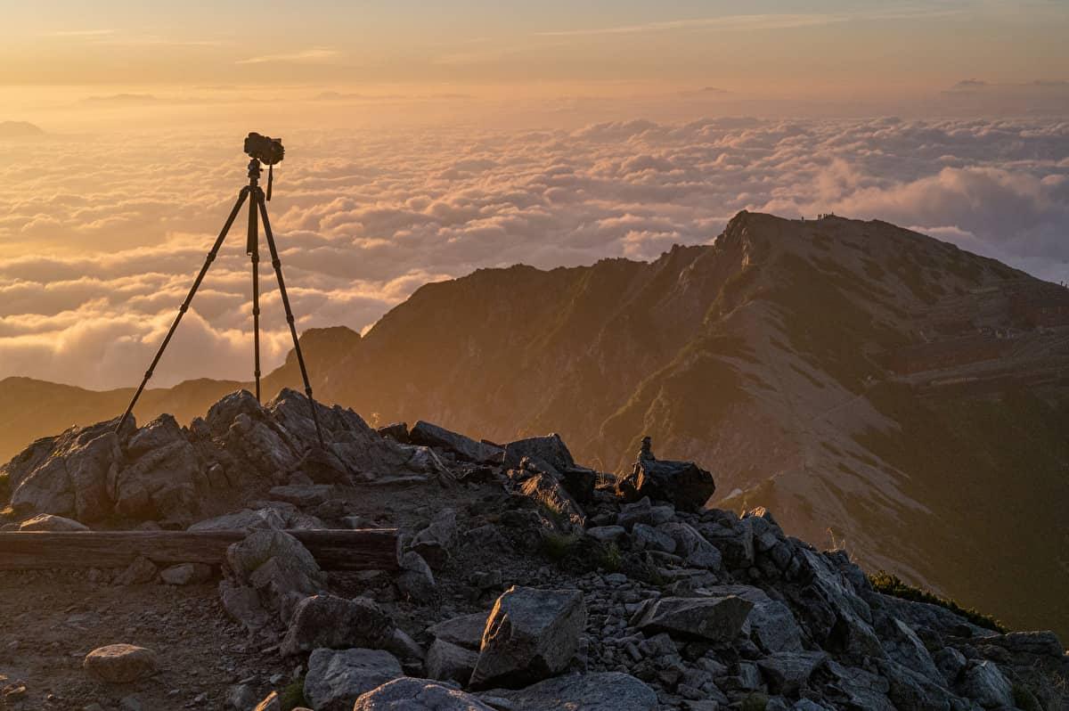 登山 コンデジ(コンパクトデジタルカメラ)