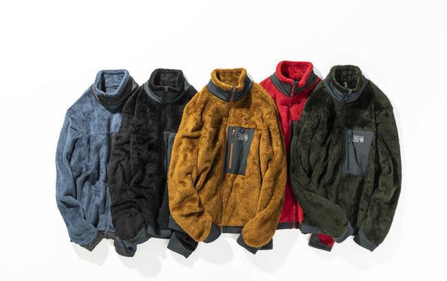 山フリースのど定番!モンキーフリースの新作 「Monkey Fleece Jacket」発売