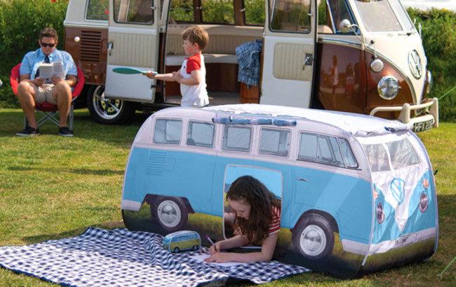 フォルクスワーゲンT1バス型のキッズテント