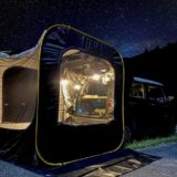 車と連結できるテント「CARSULE」は画期的なポップアップテント!