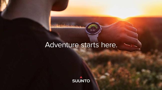 SUUNTOのスマートウォッチが史上最大規模の新機能アウトドアアップデート
