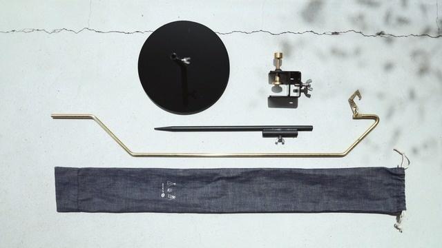 真鍮ランタンスタンド「tsurusu」