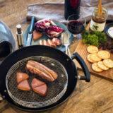 「どこでもオーブン」でキャンプ料理に革命を!外に連れ出せる電源不要オーブン!