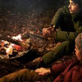 冬キャンプを存分に楽しめる!燃えにくいダウンジャケットの 「TAKIBI生地」を採用したオーロラ ダウンジャケットが登場