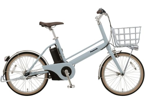 Panasonic、電動アシスト自転車「Jコンセプト」限定仕様にバスケットやスタンド標準装備