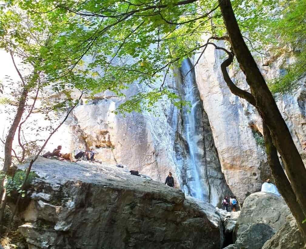 イタリア チェンゲンの滝 登山