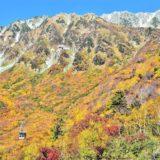 立山黒部アルペンルート、紅葉シーズンスタート!「本州一番乗り!富山県と長野県を結ぶ」