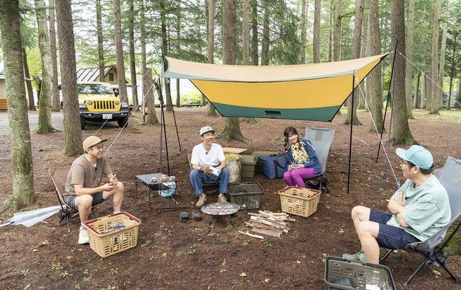 「おぎやはぎのハピキャン ~キャンプはじめてみました~」天津・木村流 おもてなしキャンプで河口湖周辺を満喫!