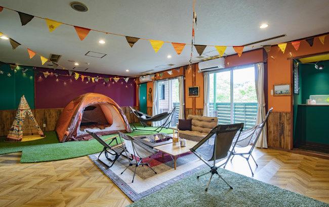 LOGOS LANDで全天候型キャンプがお得に体験できる!「Go To トラベルキャンペーン」対象プランを35%オフ!