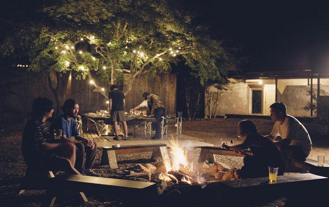冬でも楽しめるキャンプ場「LOOF TINY HOUSE CAMP」リニューアルオープン